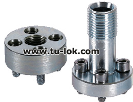 4 HOLE STARIGHT FLANGE