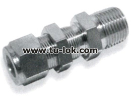 BULKHEAD MALE CONNECTOR NPT