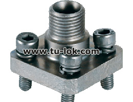 FLANGE CONNECTION STRAIGHT 24 DEGREE DIN 3901