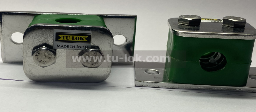Stainless Steel Hydraulic Tube Clamps